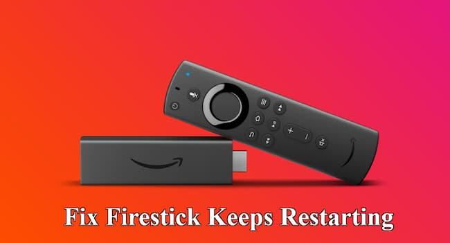 firestick keeps restarting