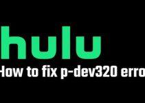 hulu error code p-dev320