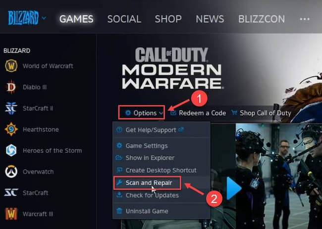 connecting to online services modern warfare