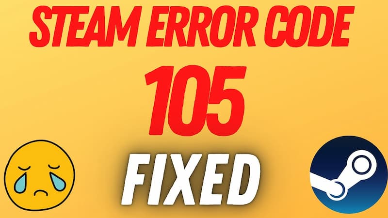 steam error code 105