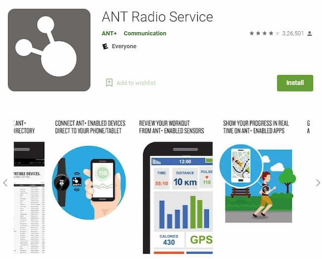 ant radio service app