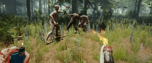 is the game the forest cross platform