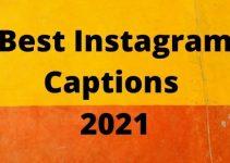 Instagram Captions 2021
