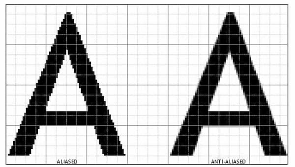 anti aliasing on or off