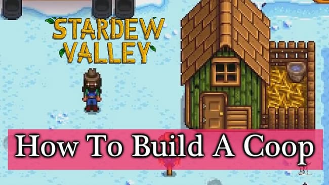 how to build a coop in stardew valley
