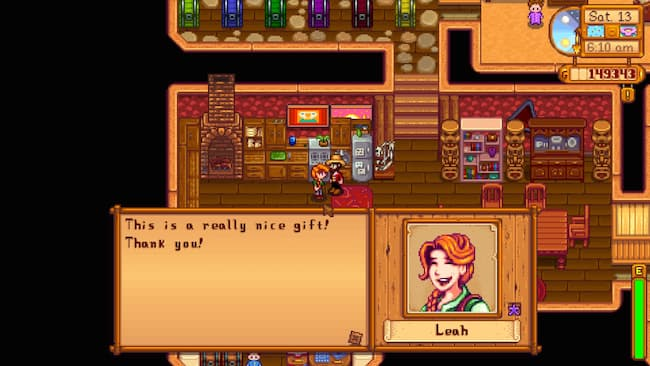 how to give birthday gift stardew valley