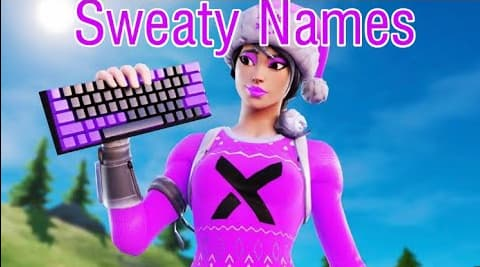 sweaty fortnite names generator