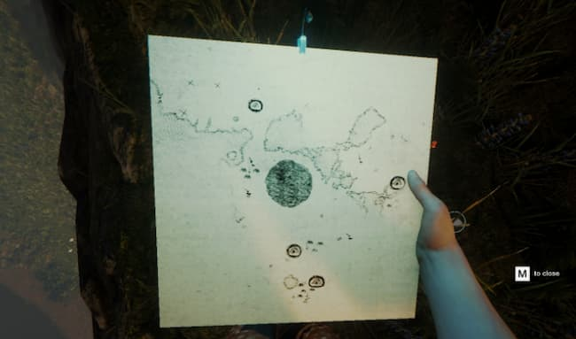 what is the forest game map