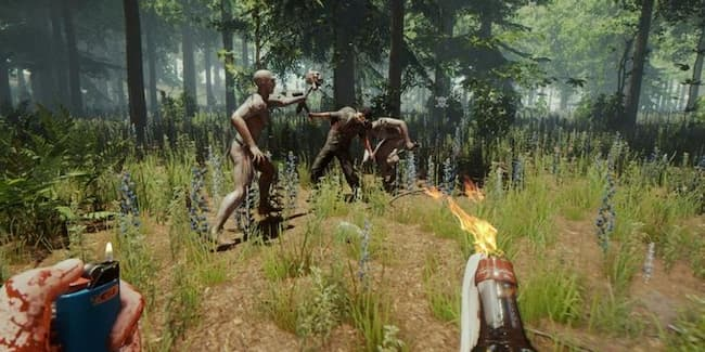 the forest weapon mods